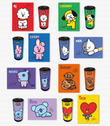 BTS [BT21] BTS 150pcs Jigsaw Puzzle In A Tube 1 gd00033128_default_1